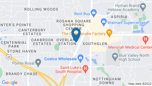Springhill Suites By Marriott Overland Park Map