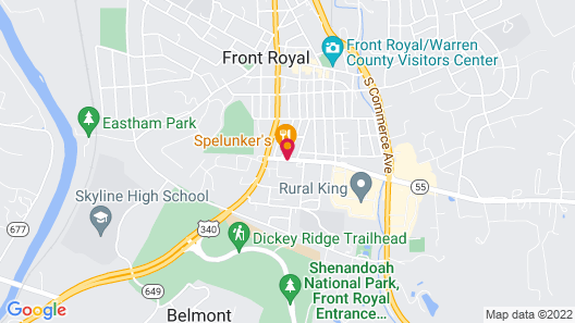 Super 8 by Wyndham Front Royal Map