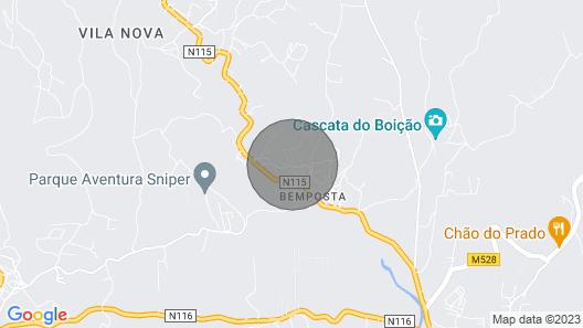 Rental Villa Near Lisbon and Vineyards Map