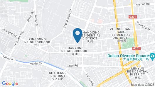 Dalian Yijia Apartment Map