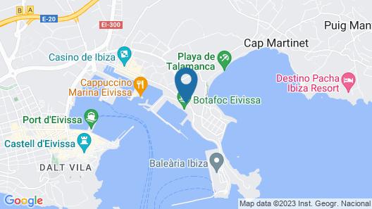 Hotel OD Ocean Drive Map