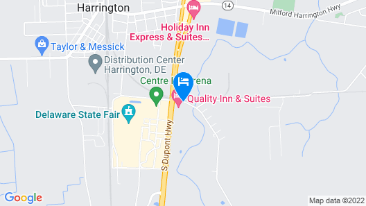Quality Inn and Suites Map