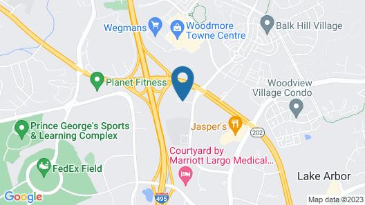 Holiday Inn Express I-95 Capitol Beltway-Largo, an IHG Hotel Map