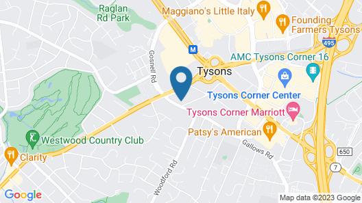 Residence Inn by Marriott Tysons Map