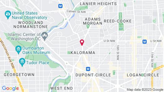 Generator Hotel Washington DC Map