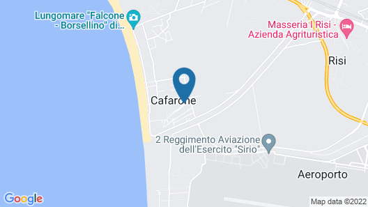 Camping Ulisse Map