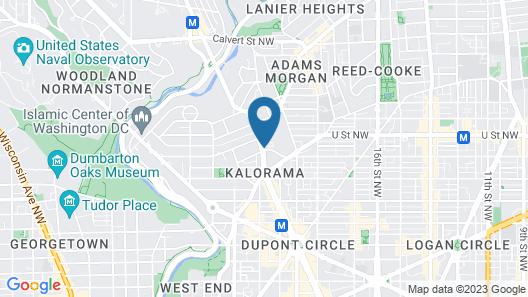 Washington Hilton Map
