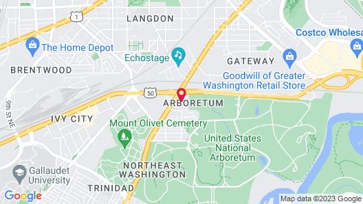 Hotel Arboretum Map
