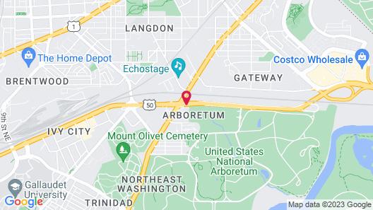 Fairfield Inn by Marriott Washington D.C. Map