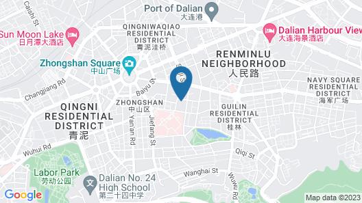 Beiliang Hotel - Dalian Map