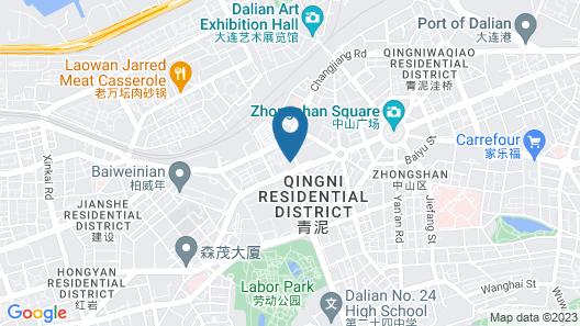 Intercontinental Dalian, an IHG Hotel Map