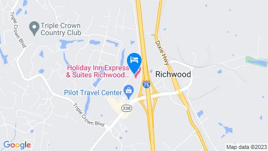 Holiday Inn Express Hotel & Suites Richwood-Cincinnati South, an IHG Hotel Map