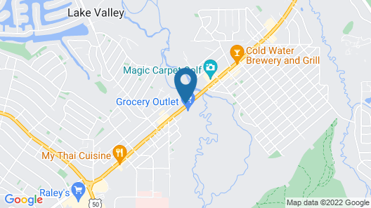 Motel 6 South Lake Tahoe, CA Map