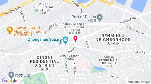 Aloft Dalian Map