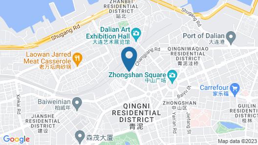 Holiday Inn Express Dalian City Centre Map