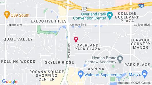 Hyatt Place Kansas City/Overland Park/Metcalf Map