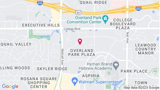 WaterWalk- Kansas City-Overland Park Map
