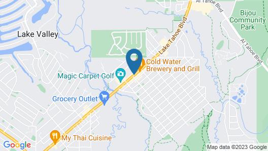 Lake Tahoe Lodging Company Map