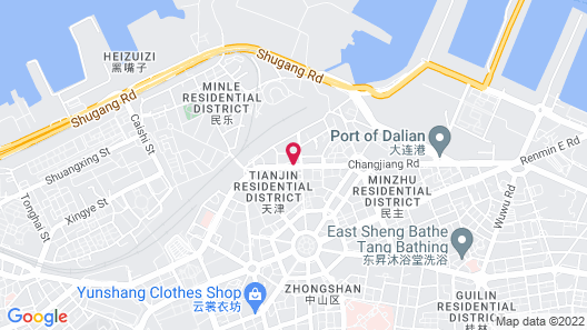 Hotel Nikko Dalian Map