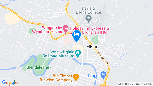 Holiday Inn Express Hotel & Suites ELKINS, an IHG Hotel Map