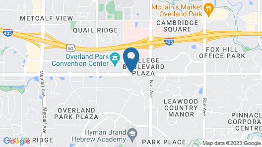 Hilton Garden Inn Overland Park Map