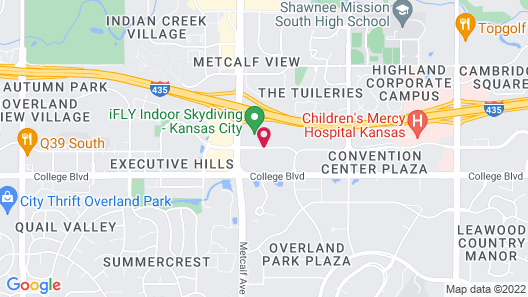 Drury Inn & Suites Kansas City Overland Park Map