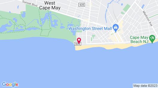 Jetty Motel Map