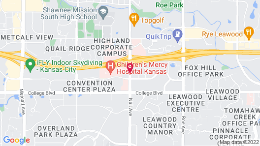 Holiday Inn Hotel & Suites Overland Park - Convention Center Map