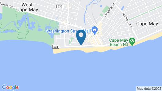 The Sandpiper Beach Club Map
