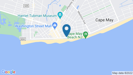 Avondale by the Sea Motel Map