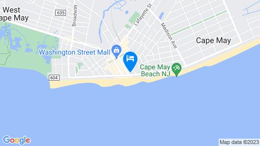 Marquis de Lafayette Hotel Map