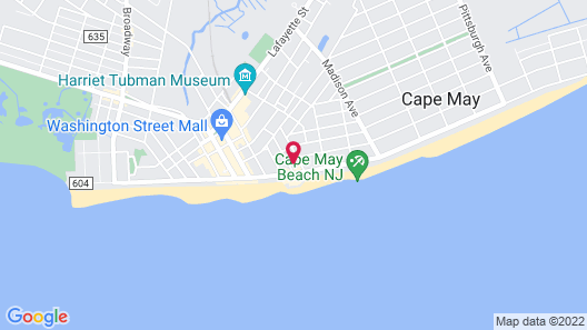 Lokal Hotel Cape May Map