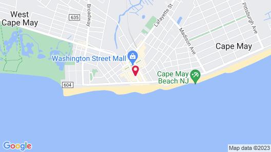 Carroll Villa Hotel Map