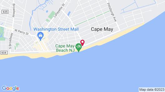 Montreal Beach Resort Map