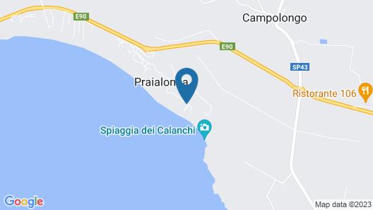 Praia Art Resort Map