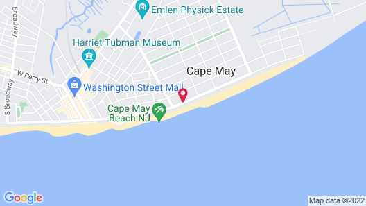Periwinkle Inn - Cape May, NJ Map