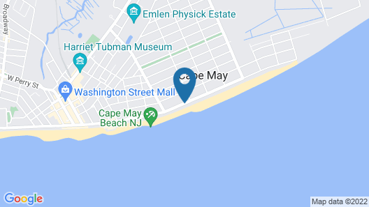 Grand Hotel of Cape May Map