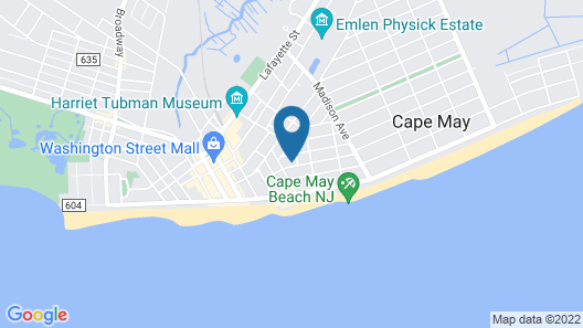 Luther Ogden Inn Map