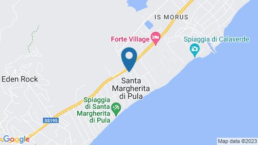 Jana Margherita Map