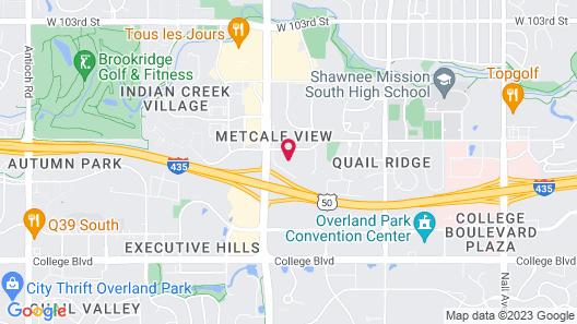 Staybridge Suites Overland Park - Kansas City S, an IHG Hotel Map