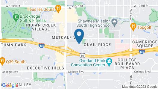 Quality Inn Overland Park Kansas City Map