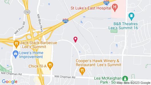 Holiday Inn Express & Suites Kansas City - Lee's Summit, an IHG Hotel Map