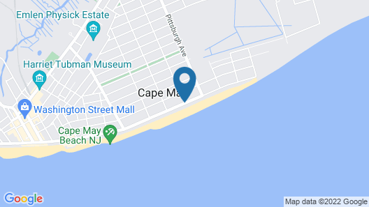 Peter Shields Inn & Restaurant Map