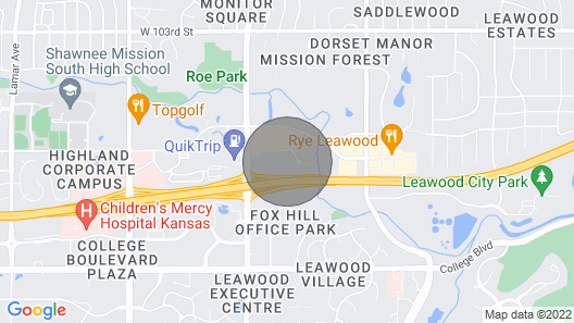 Cute & Cozy Studio Minutes From Top Golf Map