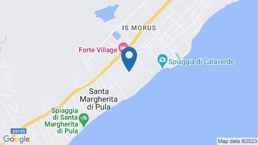 Forte Village Resort – Le Palme Map