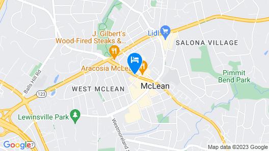 Staybridge Suites Tysons - McLean Map