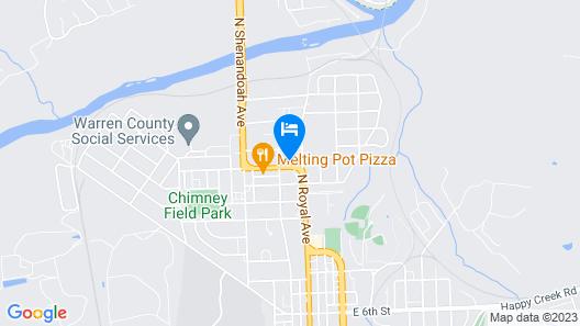 Twi-Lite Motel Map