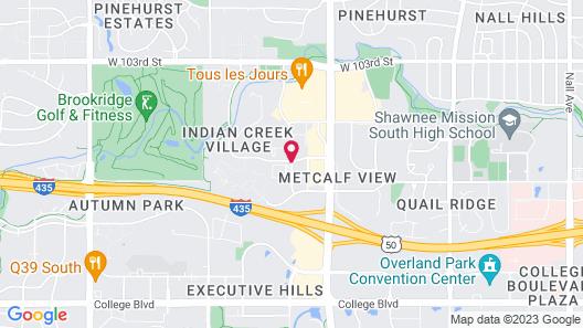 La Quinta Inn & Suites by Wyndham Overland Park Map