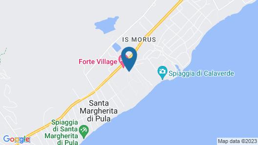 Forte Village Resort - Il Bouganville Map