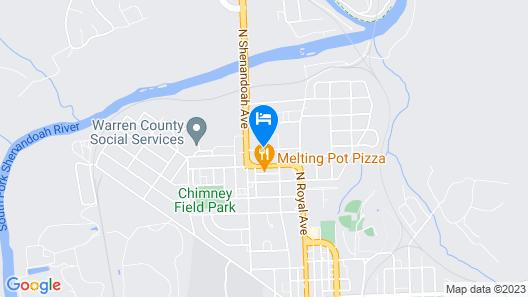 Motel 6 Front Royal, VA Map